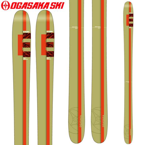 【激安大特価!】  OGASAKA オガサカ (板のみ) 18-19 スキー Ski 2019 ET イーターン E-TURN ET オガサカ 9.8 (板のみ) パウダー オールマウンテン (-):, 旅行用品のホリデイホリデイ:90297f83 --- business.personalco5.dominiotemporario.com