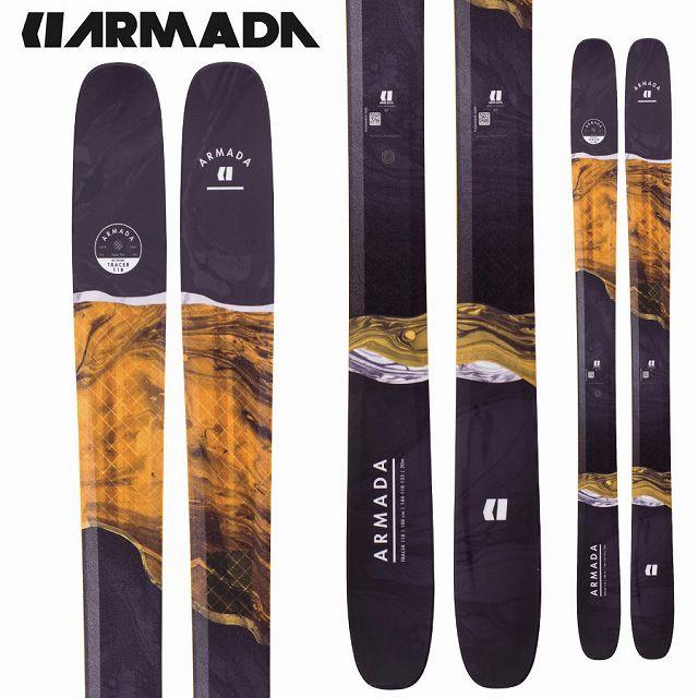 アルマダ ARMADA 18-19 SKI 2019 スキー トレーサー TRACER 118 CHX (板のみ) パウダー オールマウンテン (-):
