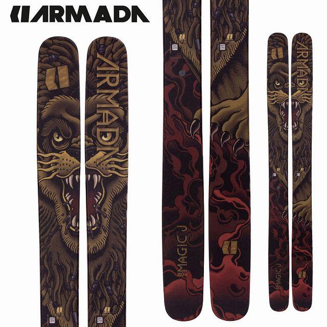アルマダ ARMADA 18-19 SKI 2019 スキー マジックJ MAGIC J (板のみ) パウダー フリーライド オールマウンテン (-):