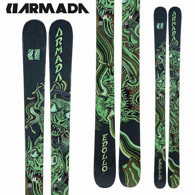 アルマダ ARMADA 18-19 SKI 2019 スキー イードロ EDOLLO (板のみ) オールマウンテン フリーライド フリースタイル (-):