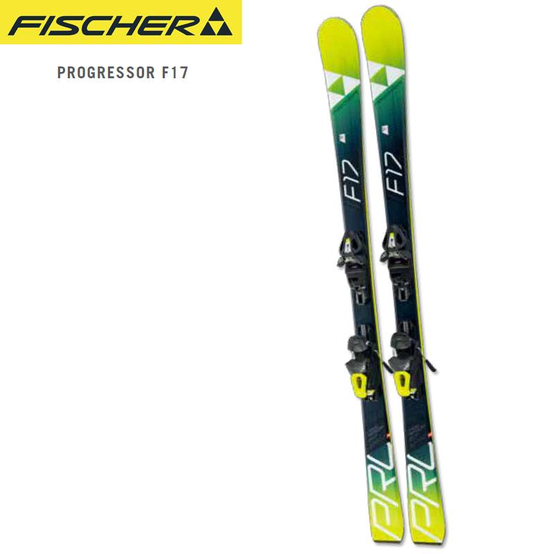 FISCHER フィッシャー 18-19 スキー Ski 2019 プログレッシブサー PROGRESSOR F17 TI + RS10 GW(金具付き) 基礎 デモ (-):