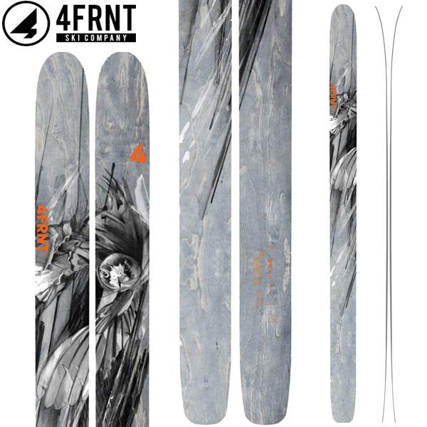 [11/16まで 10%OFFクーポンあり] 4FRNT フォーフロント 18-19 SKI 2019 スキー ホジ HOJI (板のみ) パウダー ビッグマウンテン (-):