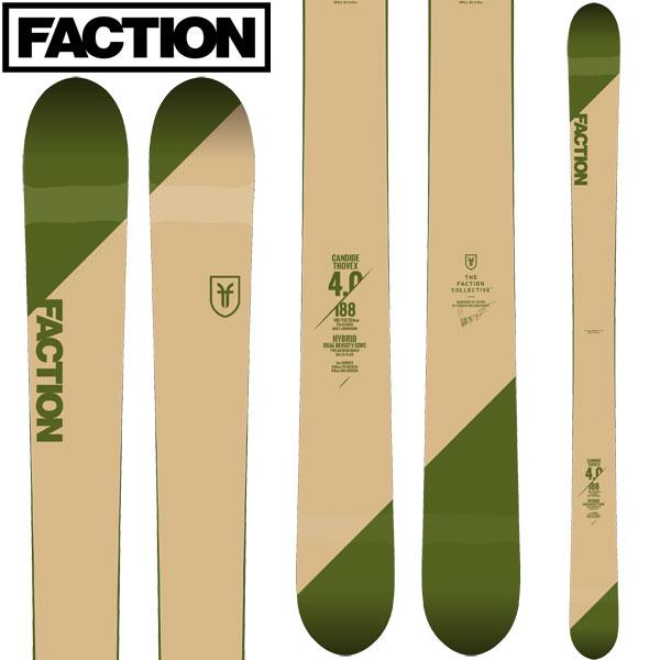 10%OFFクーポン発行中!11/22まで FACTION ファクション 18-19 スキー Ski 2019 CT 4.0 キャンディッド トベックス(板のみ) バックカントリー フリースタイル (-):