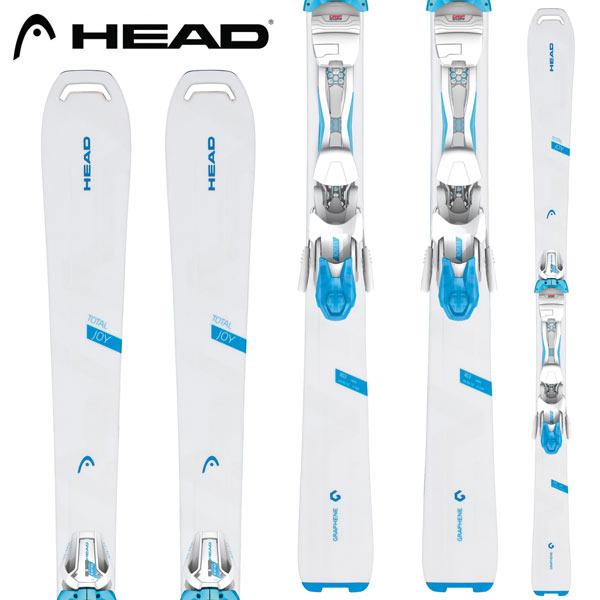 HEAD ヘッド 18-19 スキー Ski 2019 TOTAL JOY トータルジョイ + JOY11 GW レディース オールマウンテン:315628 [34SSスキー]