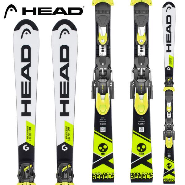 HEAD ヘッド 18-19 スキー Ski 2019 WORLDCUP REBELS i SL RD TEAM + FF EVO 11 ジュニア レーシング SL (-):314028