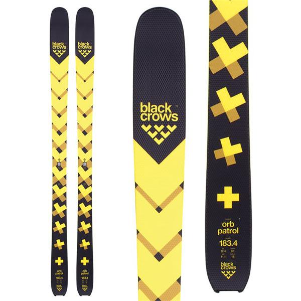 BLACKCROWS ブラッククロウズ 18-19 スキー Ski 2019 ORB PATROL オーブパトロール (板のみ) オールマウンテン パウダー: