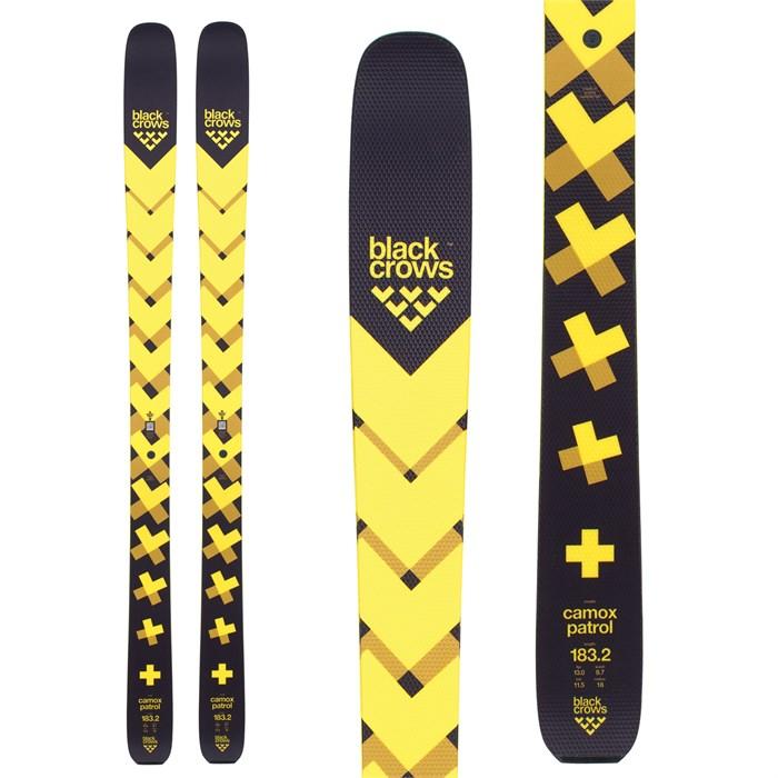 BLACKCROWS ブラッククロウズ 18-19 スキー Ski 2019 CAMOX PATROL カモックスパトロール (板のみ) オールマウンテン ツアー: