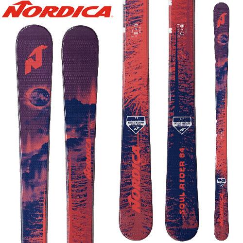 NORDICA ノルディカ 18-19 ski 2019 スキー ソウルライダー SOUL RIDER 84 (板のみ) オールマウンテン (-):
