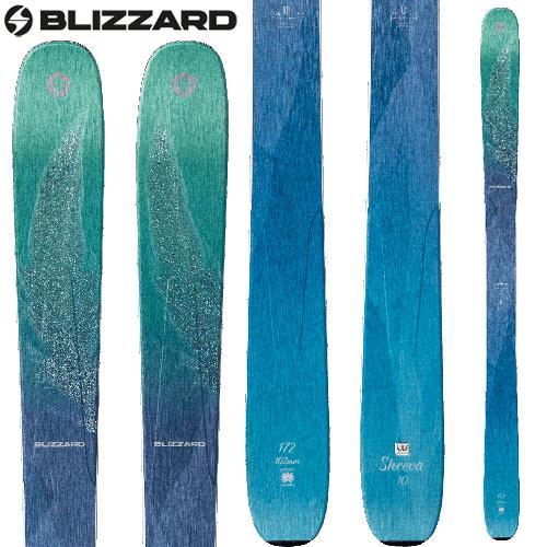 BLIZZARD ブリザード 18-19 ski 2019 スキー SHEEVA 10 (板のみ) シーバ レディース オールマウンテン: