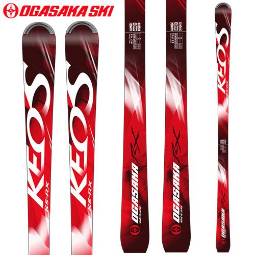 OGASAKA オガサカ スキー板 KEO'S ケオッズ KS-RX (板のみ)  基礎 デモ 18-19 2019 スキー (RED): [34SSスキー]