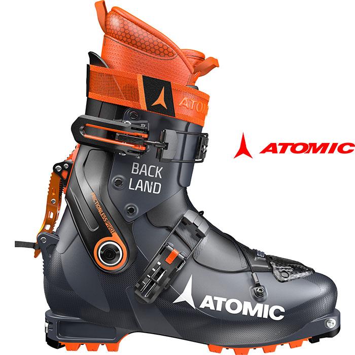 ATOMIC アトミック 18-19 スキーブーツBACKLAND バックランド 2019 兼用靴 ウォークモード付 ツアー バックカントリー 〕:ae5016860