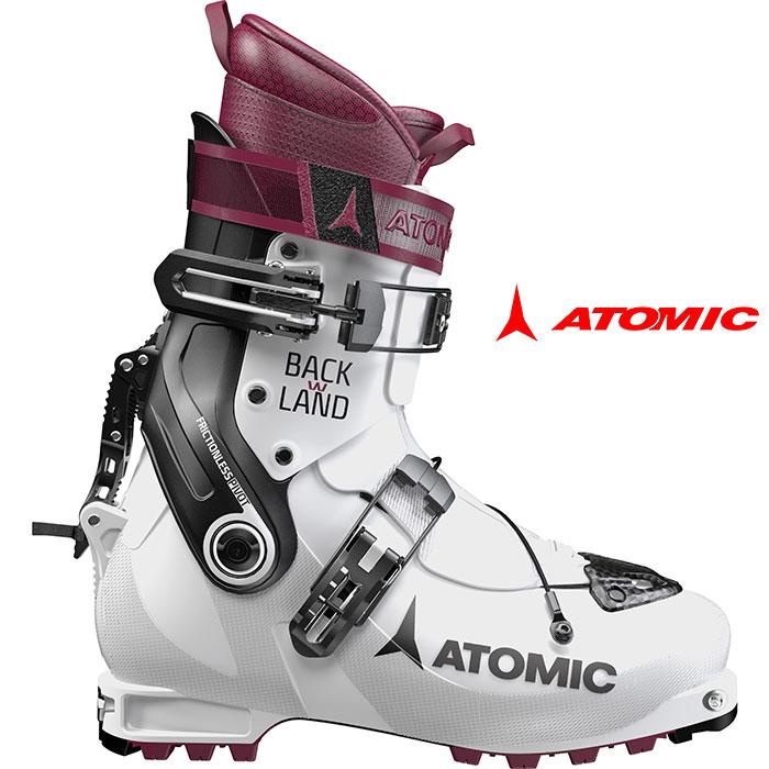 ATOMIC アトミック 18-19 BACKLAND W バックランド W 2019 兼用靴 ウォークモード付 ブーツ ツアー バックカントリー 女性用 :ae5016880