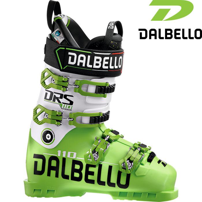 [11/16まで 10%OFFクーポンあり] DALBELLO ダルベロ 18-19 DS 110〔2019 スキーブーツ DEMO 基礎 上級〕 (BK-BK):D180300300