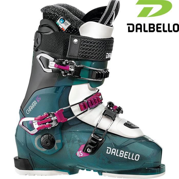 DALBELLO ダルベロ 18-19 CHAKRA 85〔2019 スキーブーツ フリースタイル 女性用〕 (BLUTR-BK):D181202200 [34SSブーツ]