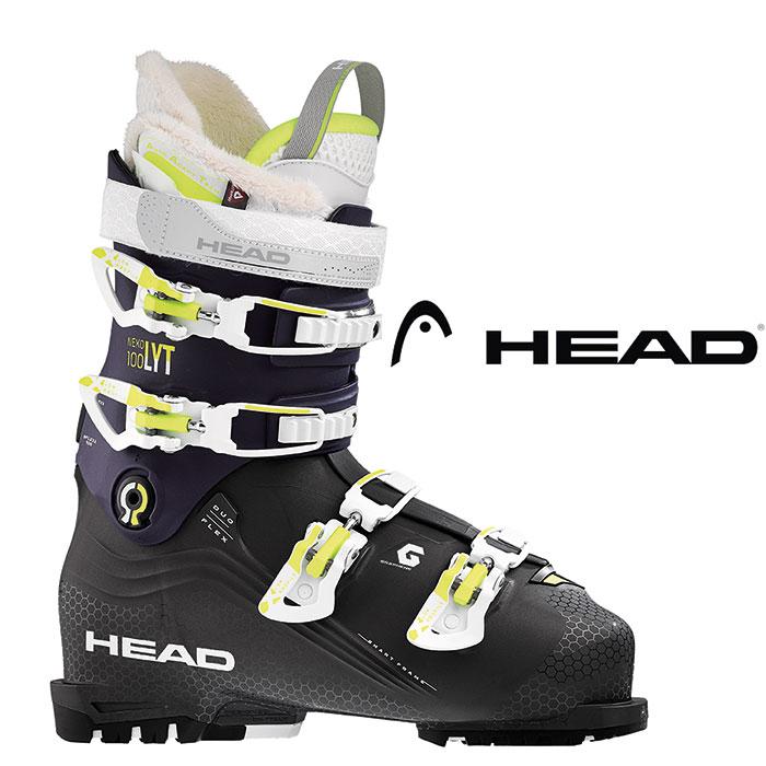 [11/16まで 10%OFFクーポンあり] HEAD ヘッド 18-19 2019 NEXO LYT 100 W ネクソ 100 WG 〔2019 スキーブーツ フリーライドモデル 基礎 上級 女性用〕 (23):nexolyt100w