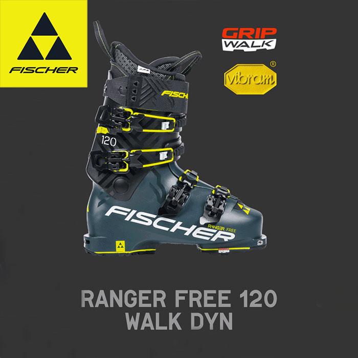 [11/16まで 10%OFFクーポンあり] FISCHER フィッシャー 18-19 RNG FREE 120 WALK DYN 2019 ウォークモード付 ブーツ ツアー バックカントリー (-):U17118