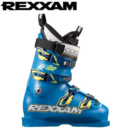 10%OFFクーポン発行中!11/22まで [送料無料] REXXAM レクザム 17-18 スキーブーツ skiboot 2018 PowerREX S100 パワーレックスS100 基礎 レーシング: