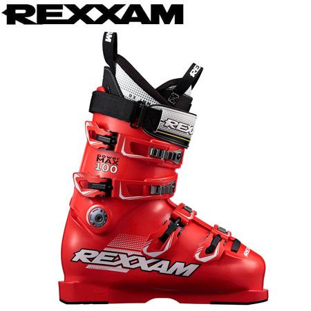 REXXAM レクザム 17-18 スキーブーツ skiboot 2018 PowerMAX 100 パワーマックスM100 (RED) 基礎 オールラウンド:
