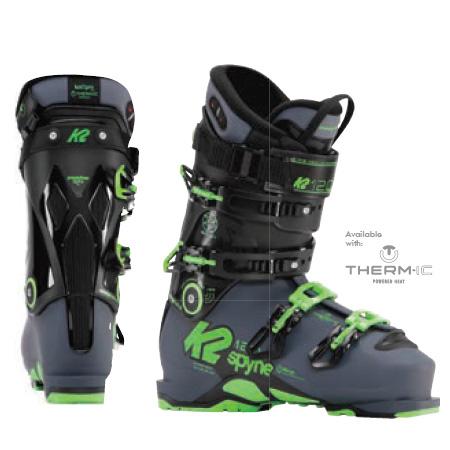 K2 ケーツー スキーブーツ 17-18 (2018) SPYNE 120 SC HEAT スパイン 120 SC ヒート オールマウンテン フリーライド: [マラソン特価]