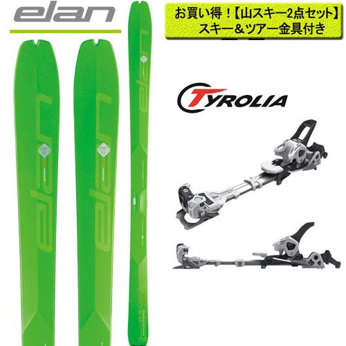 クーポン&ポイント最大10倍 エラン ELAN 18-19 スキー ski 2019 IBEX 84 Carbon + チロリア アンビション10 [金具付き2点セット] バックカントリー
