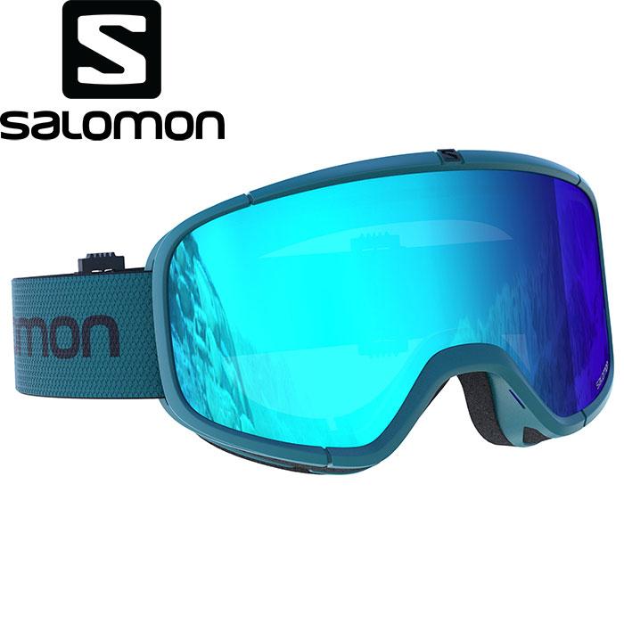SALOMON サロモン 18-19 FOUR SEVEN スキー ゴーグル GOGGLE ACC アクセサリー (Hawaian Surf):L399012