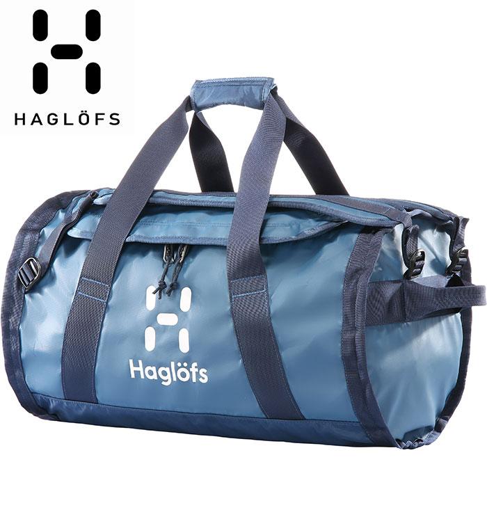 HAGLOFS ホグロフス Lava 50 〔ダッフルバッグ BAG 2018SS〕 (BLUEINK-TARNBLUE):338141