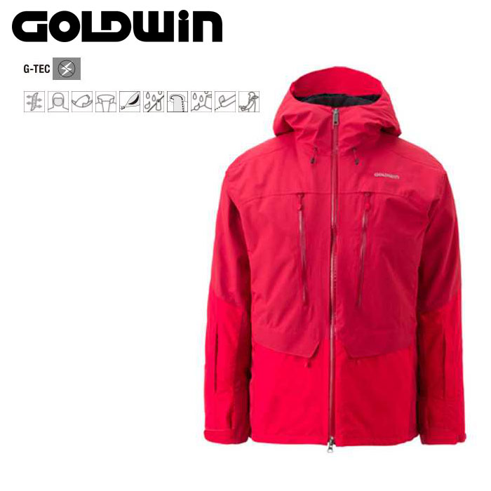 GOLDWIN ゴールドウィン Free Flow Jacket 〔Men's スキーウェア ジャケット〕 (AT):G11523P [40-49ウエア] [56-OUTER¥][34SS-out]