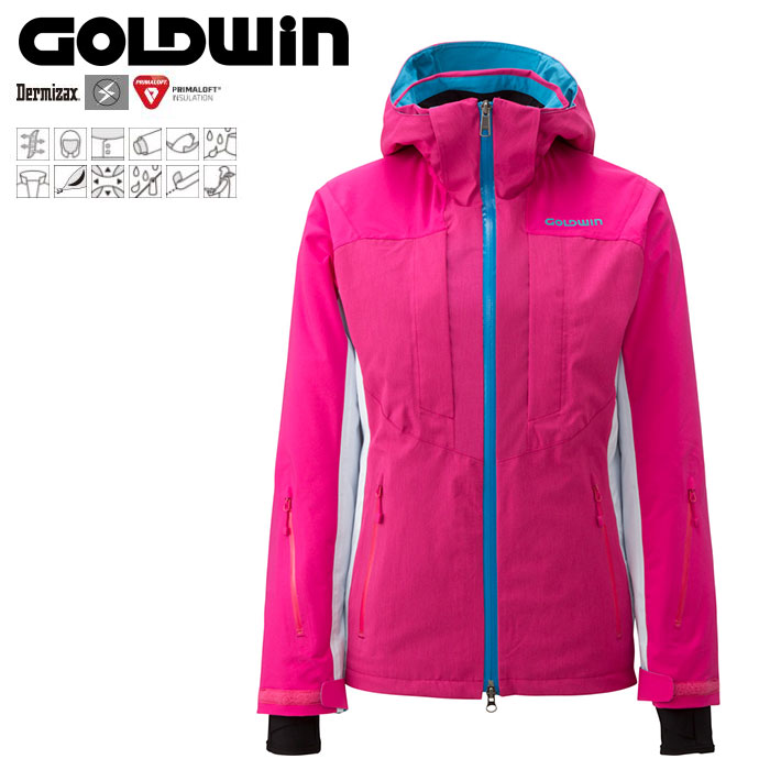 GOLDWIN ゴールドウィン W's Radical Jacket 〔Women's スキーウェア ジャケット〕 (OP):GL11503P [40-49ウエア] [56-OUTER¥][34SS-out]
