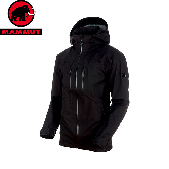 MAMMUT マムート Stoney HS Jacket Men 防水 透湿 スキー ジャケット 2018FW 18-19 (black):1010-26460