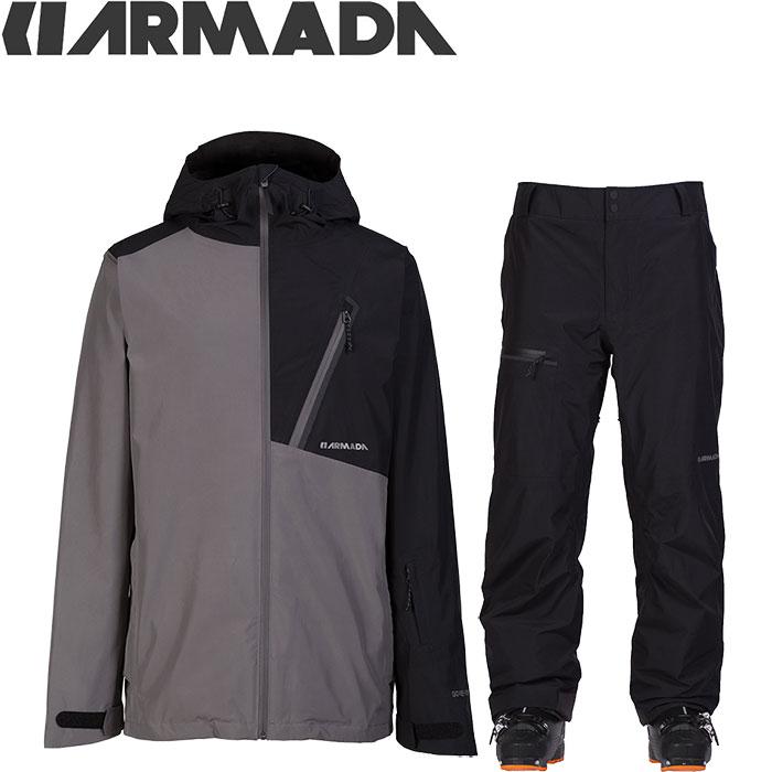 ARMADA アルマダ スキーウェア 18-19 CHAPTER GORE-TEX JACKET Mens JKT & PANTS 上下セット (SLBK):R00004100-R00029110