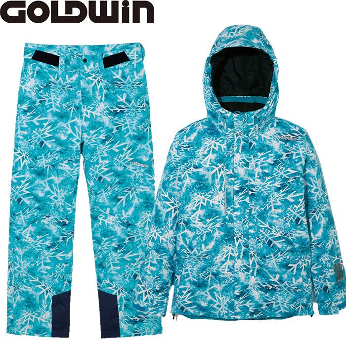 GOLDWIN ゴールドウィン RAY 上下セット〕 JACKET RAY&PANTS【技術選着用モデル】〔特価 スキーウェア GOLDWIN 2018 上下セット〕 (ターコイズ):G11711P-G31715P, G-Select:fb919108 --- sunward.msk.ru