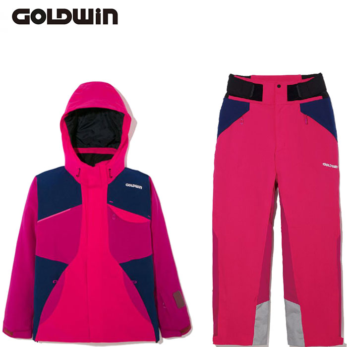 [11/16まで 10%OFFクーポンあり] [送料無料] ゴールドウィン GOLDWIN BARO JACKET & BARO PANTS 〔スキーウェア 上下セット 17/18〕 (OPOP):G11708P-G31710P
