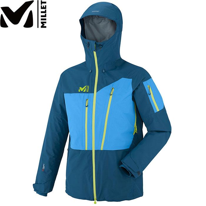 MILLET ミレー M WHITE NEO 3L JKT M ホワイト ネオ 3L ジャケット 〔 スキーウェア ジャケット 2017/2018FW 特価 〕 (POSEIDON-ELECTRICBLUE):MIV7459 [特価ミレー]