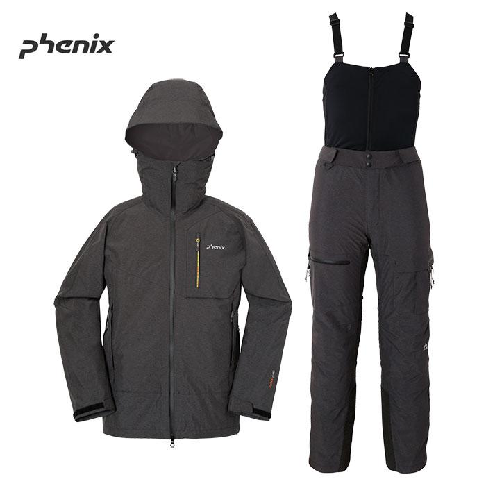 [11/16まで 10%OFFクーポンあり] [送料無料] PHENIX フェニックス SPANTIK 3L JKT&PNT BCスキーウェア 上下セット MENS 旧モデル お買い得 40%OFF [pt0] (BK-BK):PH652ST10PH652SB10