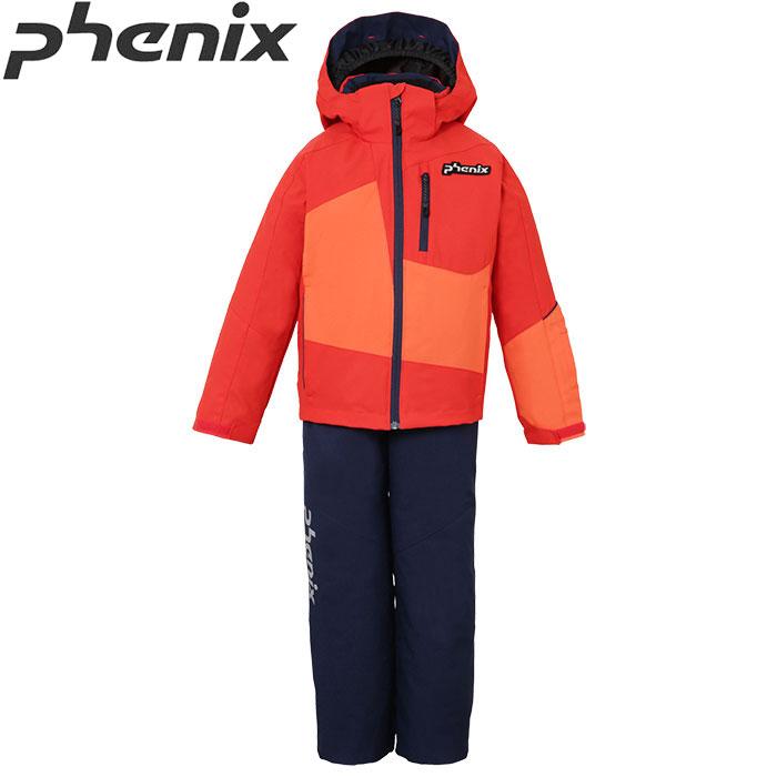 [11/16まで 10%OFFクーポンあり] PHENIX フェニックス DEMONSTRATION K'S 2PIECE ジュニア スキーウェア 上下セット 旧モデル お買い得 40%OFF [pt0] (RDOR):PS7G22P71