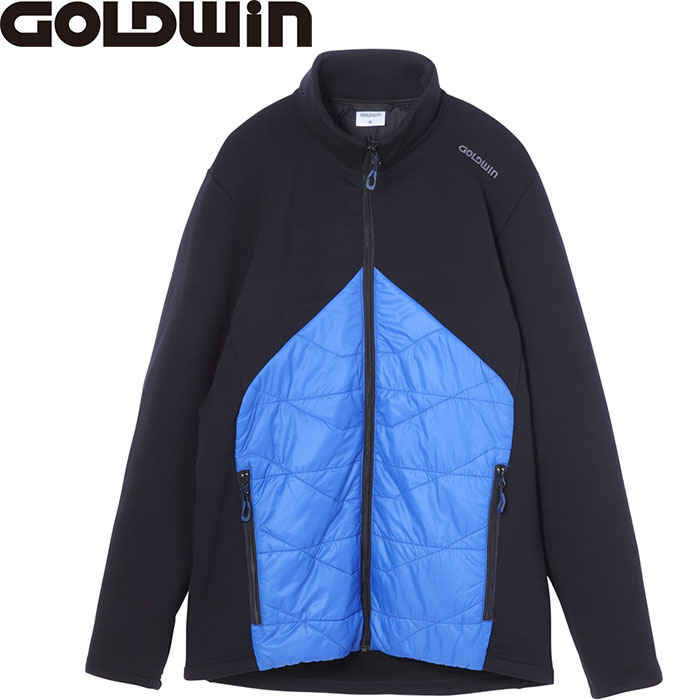 [11/16まで 10%OFFクーポンあり] GOLDWIN ゴールドウィン HIBRID STRETCH JK 〔特価 スキーウェア 2018 ミドラー〕 (アドリアブル-):G51705P