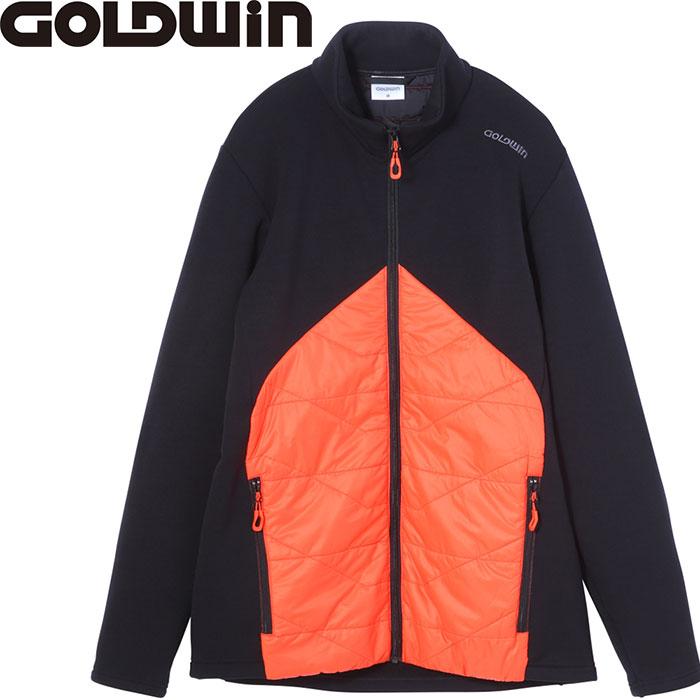 [11/16まで 10%OFFクーポンあり] GOLDWIN ゴールドウィン HIBRID STRETCH JK 〔特価 スキーウェア 2018 ミドラー〕 (フレイムオレンジ):G51705P
