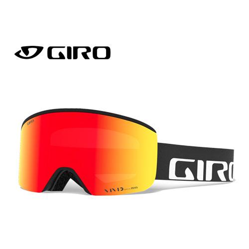 GIRO ジロー 19-20 ゴーグル 2020 AXIS BLACK WORDMARK アクシス スキーゴーグル メンズ 平面 Vividレンズ 眼鏡対応:7083266 [34SS_GOG]