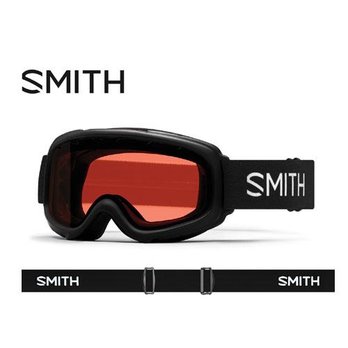 ポイント5倍!12/19AMまで!SMITH スミス 19-20 ゴーグル 2020 Gambler Black ギャンブラー スキーゴーグル 平面 キッズ 眼鏡対応:010250220
