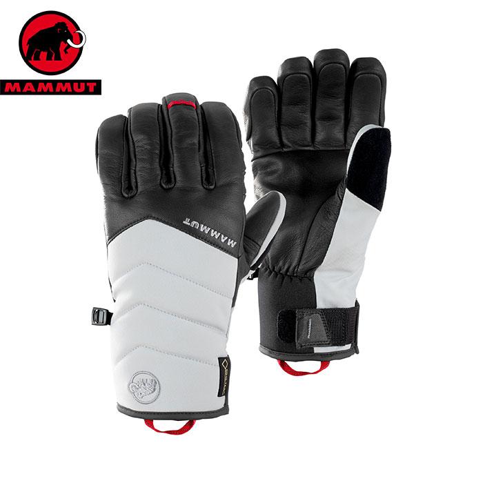 [11/16まで 10%OFFクーポンあり] [送料無料] MAMMUT マムート Alvier Glove ゴアテックス 防水 透湿 スキー グローブ 手袋 2018FW 18-19 (marble-titanium):1090-05890