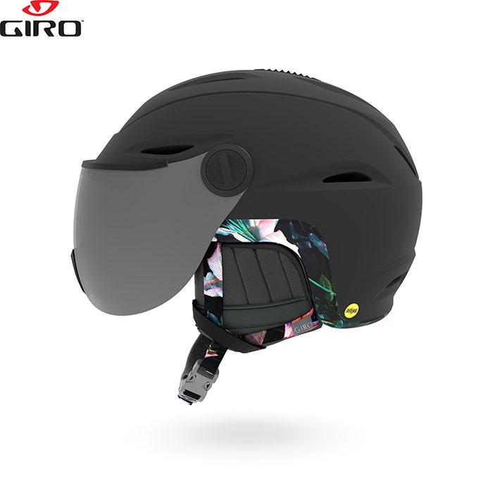 Giro ジロー ヘルメット ESSENCE MIPS AF エッセンス ミップス 2018/2019 お買い得 スキー スノーボード (MatteBlackElectricPetal):710324
