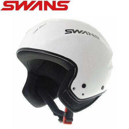 スワンズ SWANS HSR-80FIS ホワイト 旧モデル スキー ヘルメット 【FIS対応 レーシングヘルメット】: [34SS_HEL]