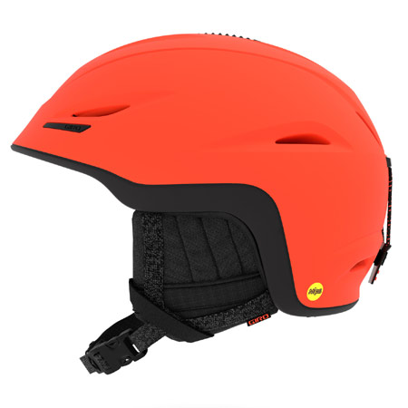 GIRO ジロ 2019モデル UNION MIPS AF ユニオンミップス アジアンフィット MATTE-VERMILLION/BLACK ヘルメット スキー スノーボード (-):