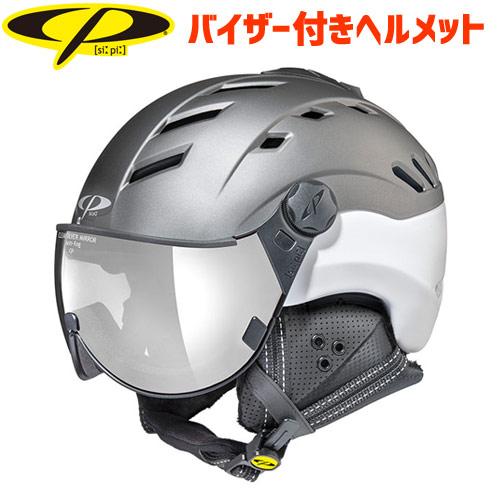 CP シーピー 2019モデル CP CAMURAI カムライ TSW バイザー付き ヘルメット スキー スノーボード (-):CPC1908