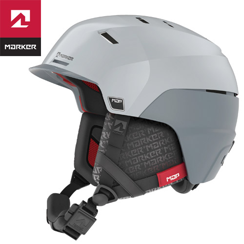 MARKER マーカー 18-19 ヘルメット PHOENIX MAP フェニックス マップ (ホワイトグレー) スキー スノーボード 2019 (-):169400