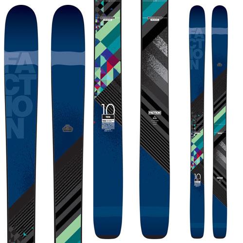 10%OFFクーポン発行中!11/22まで スキー 15-16 FACTION ファクションTEN  (板のみ) フリーライドモデル・オールマウンテンスキー[pd滑_ski] [スキー特価市]
