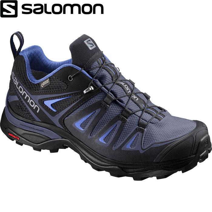 SALOMON サロモン X ULTRA 3 GTX W X ウルトラ 3 ゴアテックス W 〔 レディースハイキング マルチ GORE-TEX 2018SS 〕 (クラウンブルー):L40002700 [クリアランスpt0]