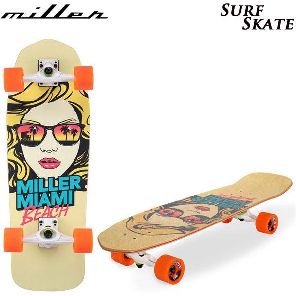 [送料無料] MILLER ミラー サーフスケート SURF SKATE Miani Girl 31