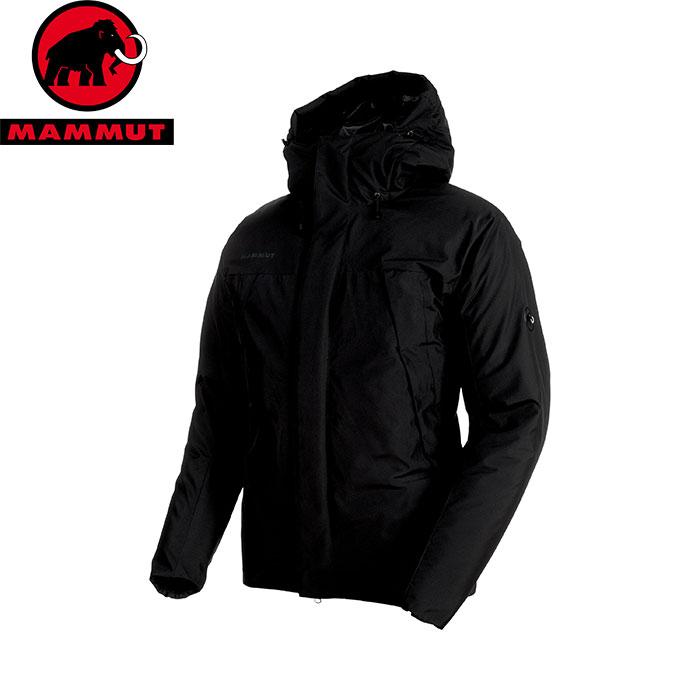 MAMMUT マムート Crater SO Thermo Hooded Jacket Men 中綿入り ジャケット JKT 2018FW 18-19 (black):1011-00450