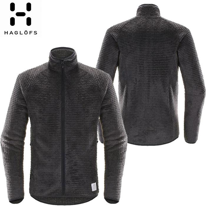 クーポン&ポイント最大10倍 [送料無料] HAGLOFS ホグロフス 18-19 Sensum Jacket Men 2019 メンズ フリース ジャケット アウトドア (SLATE):603645